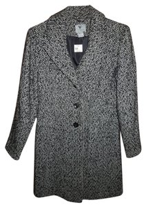 Worthington Dress Harringbone New Medium Coat