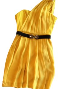BCBG Max Azria short dress Yellow on Tradesy