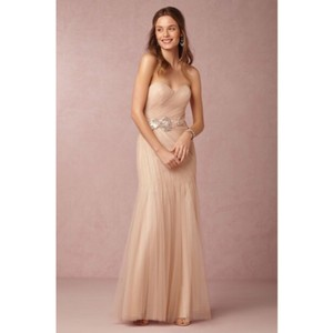 BHLDN Rose Gold Dress