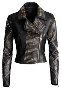 Versace for H&M Leather Jacket