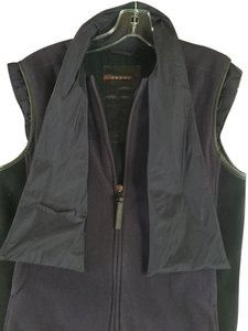 Prada Fleece Zip Front Sleeveless Winter Ski Hiking Vest