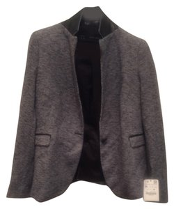 Zara Navy blue tweed Blazer
