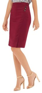 The Limited Skirt Deep Red