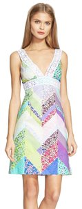 Trina Turk short dress Multi Colored Nwt Spring Summer on Tradesy