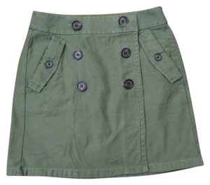 J.Crew Mini Skirt Army Green