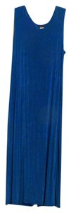 Blue Maxi Dress by Citiknits