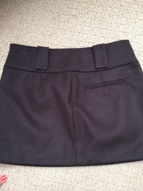 United Colors of Benetton Mini Skirt Chocolate Brown Image 2