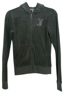 Juicy Couture Velour Jumpsuit Hoodie Women Sweatsuit Jacket