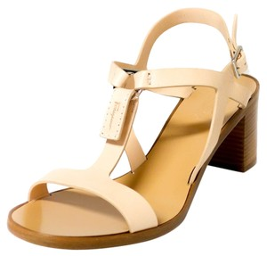 Salvatore Ferragamo Nude Sandals