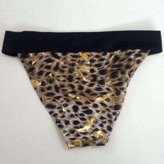 Guess Guess Gold Leaf Swimsuit Bottoms