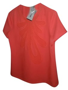 Raoul Nwt Couture Night Out Top Orange