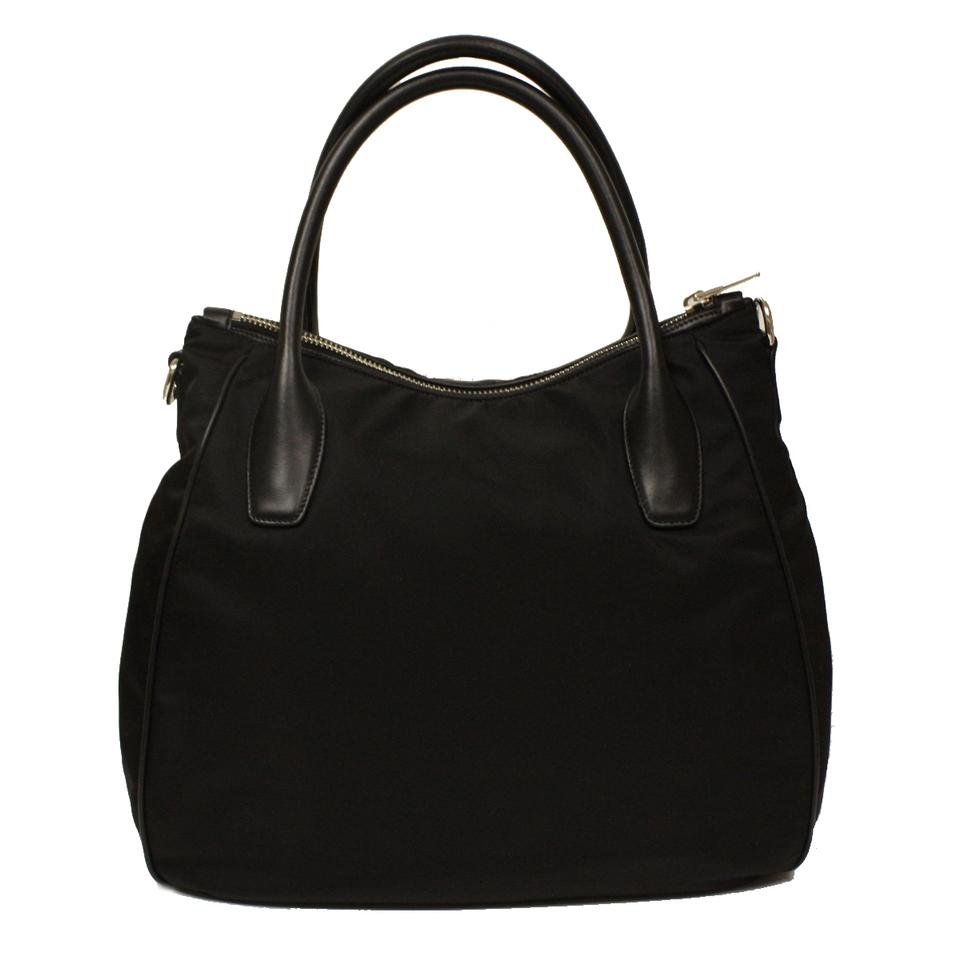 best prada bag to buy - Prada Tessuto Soft Calf Leather And Nylon Handbag Br4992 Hobo Bag ...