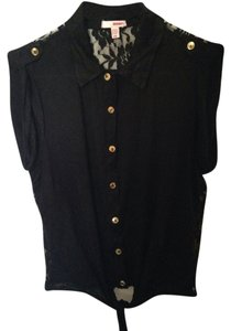 Bongo Button Down Shirt Black
