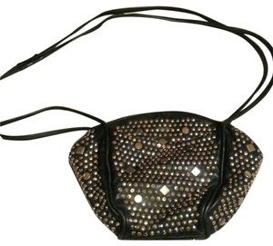 Atalla Handbags Leather Studded Cross Body Bag