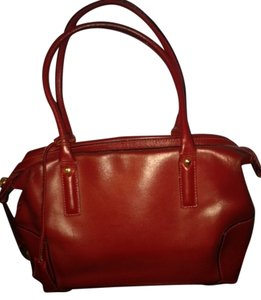 Barbara Milano Satchel in Red