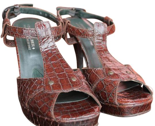 Preload https://item1.tradesy.com/images/donald-j-pliner-brown-couture-crocleather-sandals-size-us-8-872395-0-2.jpg?width=440&height=440