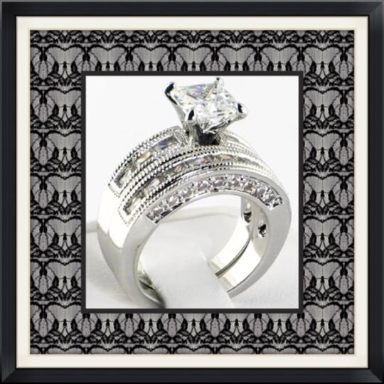 Other 2PC Wedding Set Over 4TCW