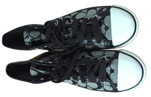 Coach High Top And White Price Reduction Sneakers Sporty Black Athletic