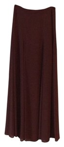 Frenchi Maxi Skirt Brown