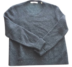 J Brand Leather Wool Sweater