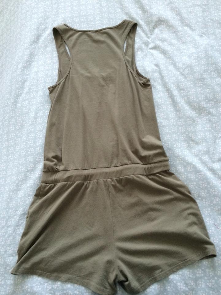 11709ad9a00 Kenneth Cole Romper Armygreen Coverup Summer Romper Romper Army Summer  Romper Sleeveless Beach Top Green Image. 123