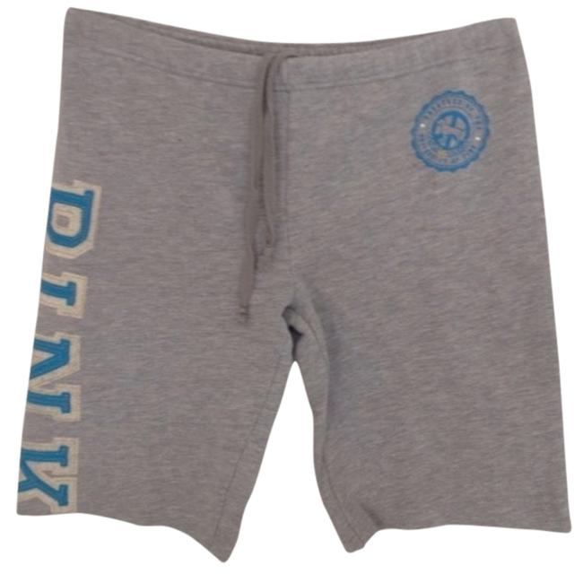PINK Shorts Gray Turquoise