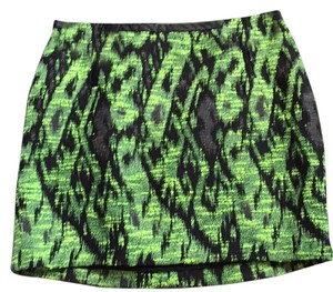 ASTR Mini Skirt Green