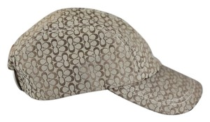 Coach Coach Signature Jacquard Baseball Cap in khaki - Small