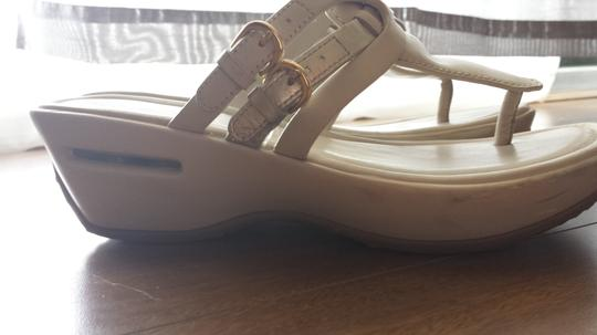 Cole Haan Wedges Cream Sandals
