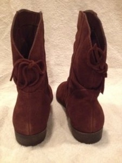 Nine West Brown Suede Boots