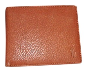Polo Ralph Lauren Cognac Clutch