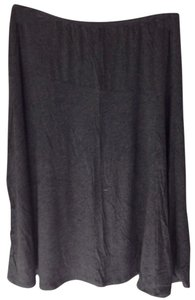 Dress Barn Skirt Charcoal Gray
