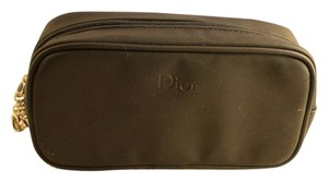 Dior Dior Beaute Black Faux Leather Cosmetic Makeup Case