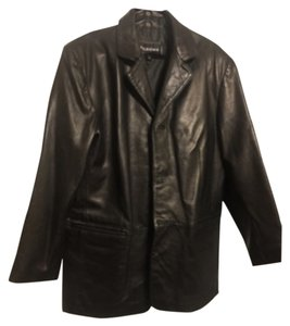 Wilsons Leather Blackk Leather Jacket