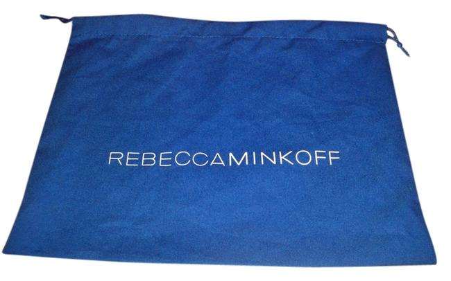 Item - Dust Cover 13 X 10 (Approx) Fabric and Black Blue with Logo White Cotton Tote