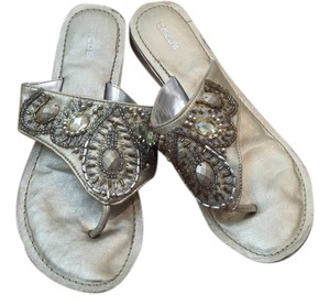 Chico's Gold Sandals