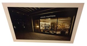 Louis Vuitton Louis Vuitton 41x28 Store Display Photo Foam Core Mounted