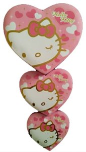 Hello Kitty Hello Kitty Stackable Heart-Shape Gift Boxes (3-Piece Set)