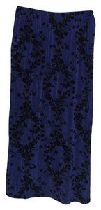 Citiknits Skirt Royal Blue