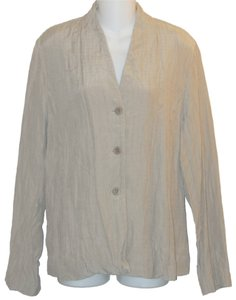Eileen Fisher Beige Jacket
