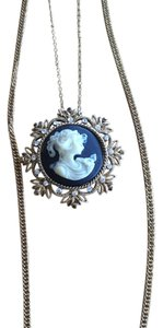 Eda and Betty Eda & Betty Vintage Multistrand Cameo Necklace