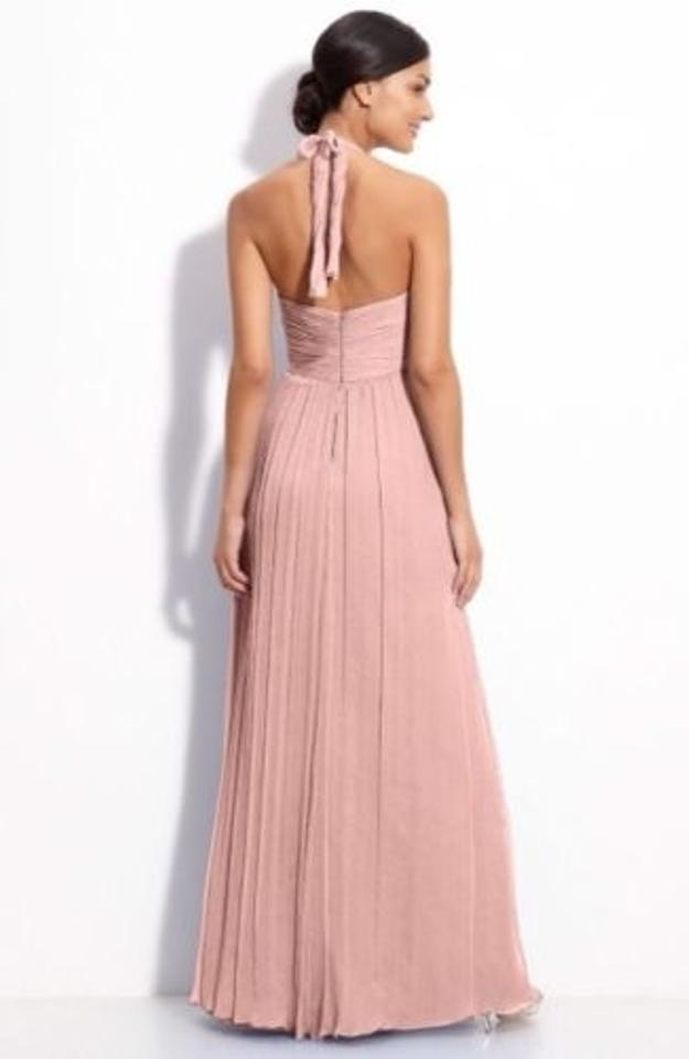 Attractive Amsale Chiffon Halter Gown Pictures - Wedding Dresses ...