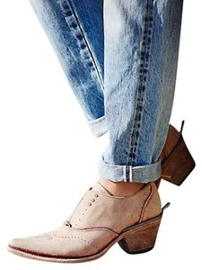 Free People Pskaufman Platt Red/rouge Boots