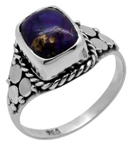 Other Genuine Purple Turquoise Ring, 2.37cts