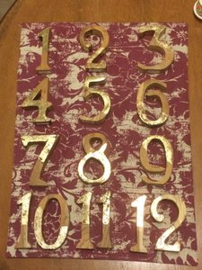 Anthropologie Table Numbers For Wedding