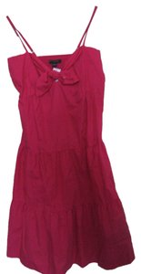 Banana Republic short dress Hot Pink Party Night Out Recycled Material on Tradesy