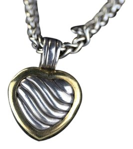 David Yurman David Yurman 18K Yellow Gold Heart Locket Enhancer