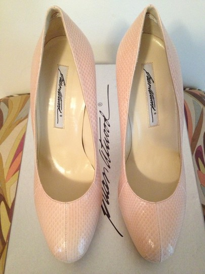 Brian Atwood Nude Pumps