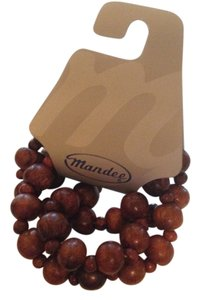 Wood Bead Bracelet Set Free With Purchase