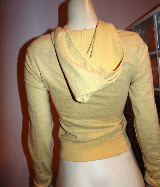 Juicy Couture Sweater Size Small YELLOW GREEN PINK Jacket Image 3